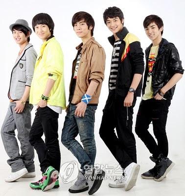 Profil Dan Foto BoyBand Korea Shinee