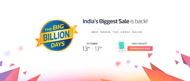 Big Billion Sale on Flipkart