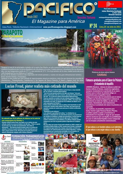 Revista Pacífico Nº 24 Turismo