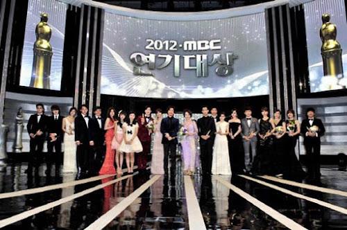 Daftar Lengkap Pemenang MBC Drama Awards 2012