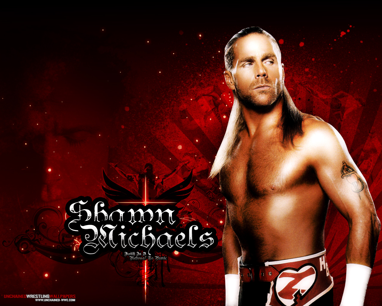 shawn michaels iphone wallpaper