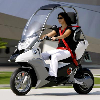 Motoneta Scooter BMW C1