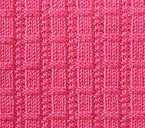 Knitting Rib Stitches : Knitting galore saturday stitch waffle ribs