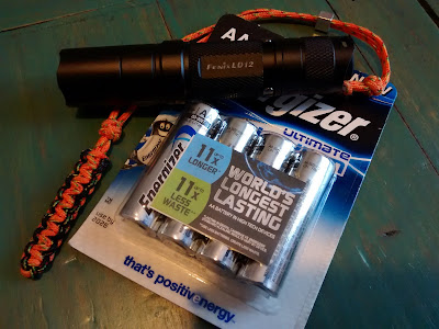 Fenix LD12 and Energizer Ultimate Lithium AA size L91
