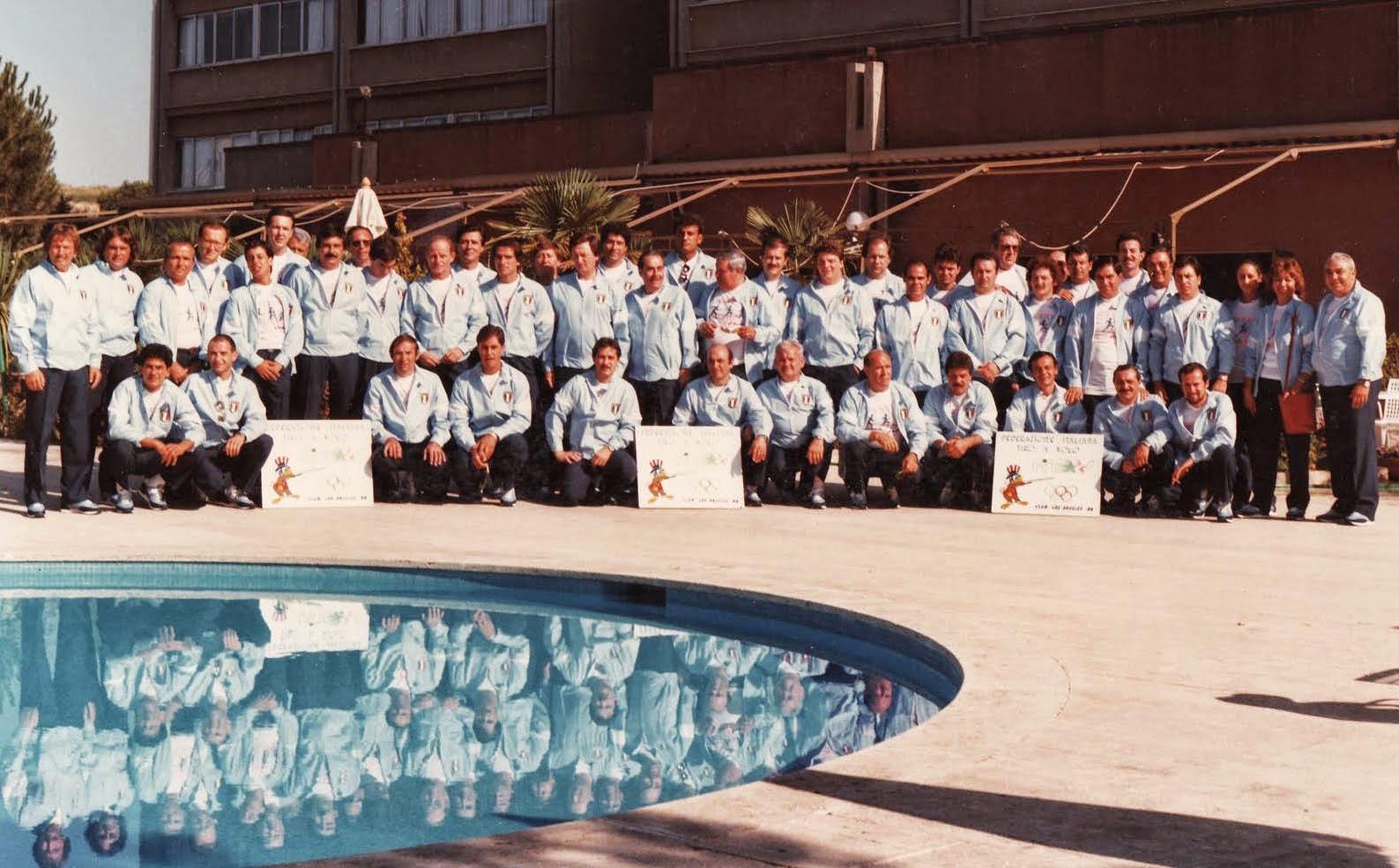 1984- Partenza per Los Angeles