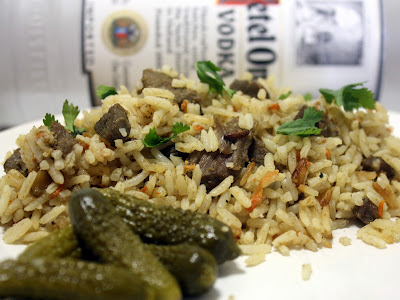 make meals mama: lamb plov (uzbek rice pilaf)