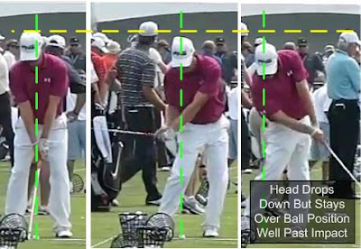 golf swing sequence hit down Hunter Mahan