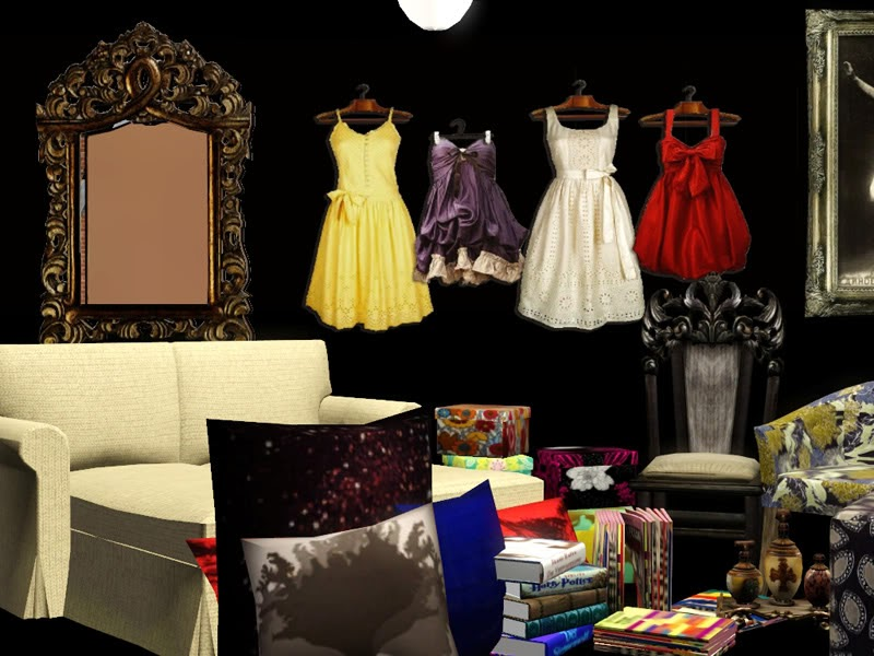 Empire Sims 3 Bedroom Decor By Butterfly