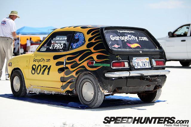 Evil Tweety, Honda Z600 Coupe, rekord prędkości, mały samochód