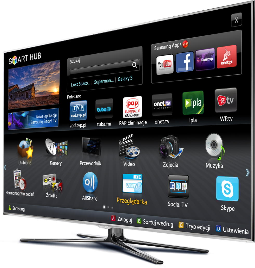 Welcome New Year with New Samsung Smart Tv