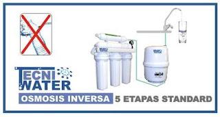 osmosis inversa domestica 5 etapas precios