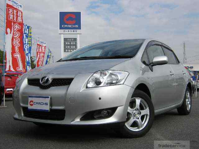 abir car selection toyota auris 2008 1500 silver. Black Bedroom Furniture Sets. Home Design Ideas