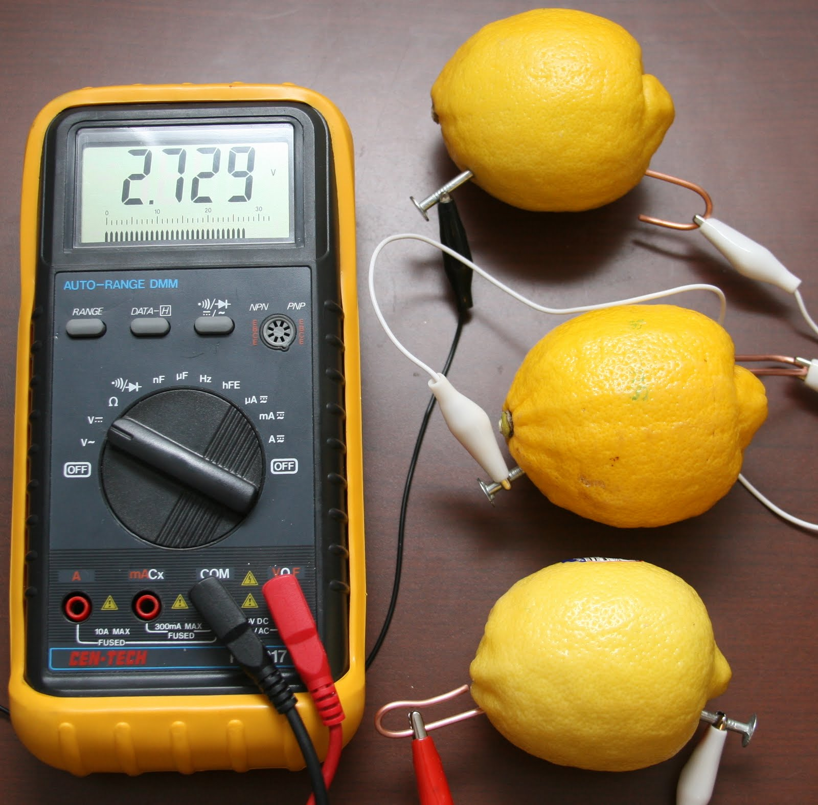 lemon battery research By using the chemicals contained in a lemon and in different types of metal research schools how to make a lemon battery science fair project related study.