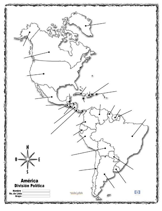 Mapa Fisico De America Del Sur Completo