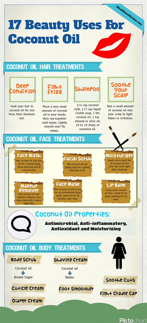 17 beauty uses for coconut oil copy 1355276317 - Using Coconut Oil For Clean Beauty