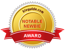 Blog Adda Notable Newbie Award