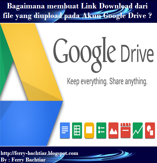 Cara membuat link download pada google drive