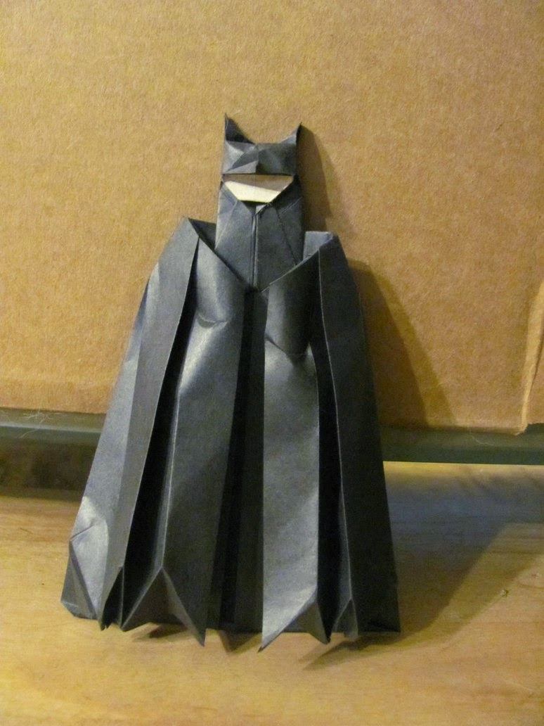 Origami Batman 3d Easy Origami For Kids