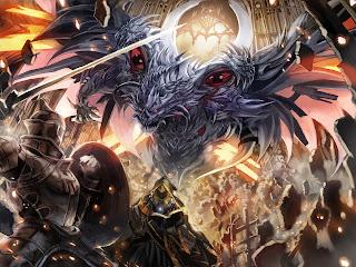 Monster Armor Fighting Battle War Anime Fantasy HD Wallpaper Desktop PC Background 1946