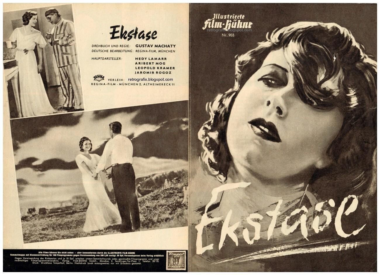 con el cine en los talones extasis gustav machaty 1933. Black Bedroom Furniture Sets. Home Design Ideas
