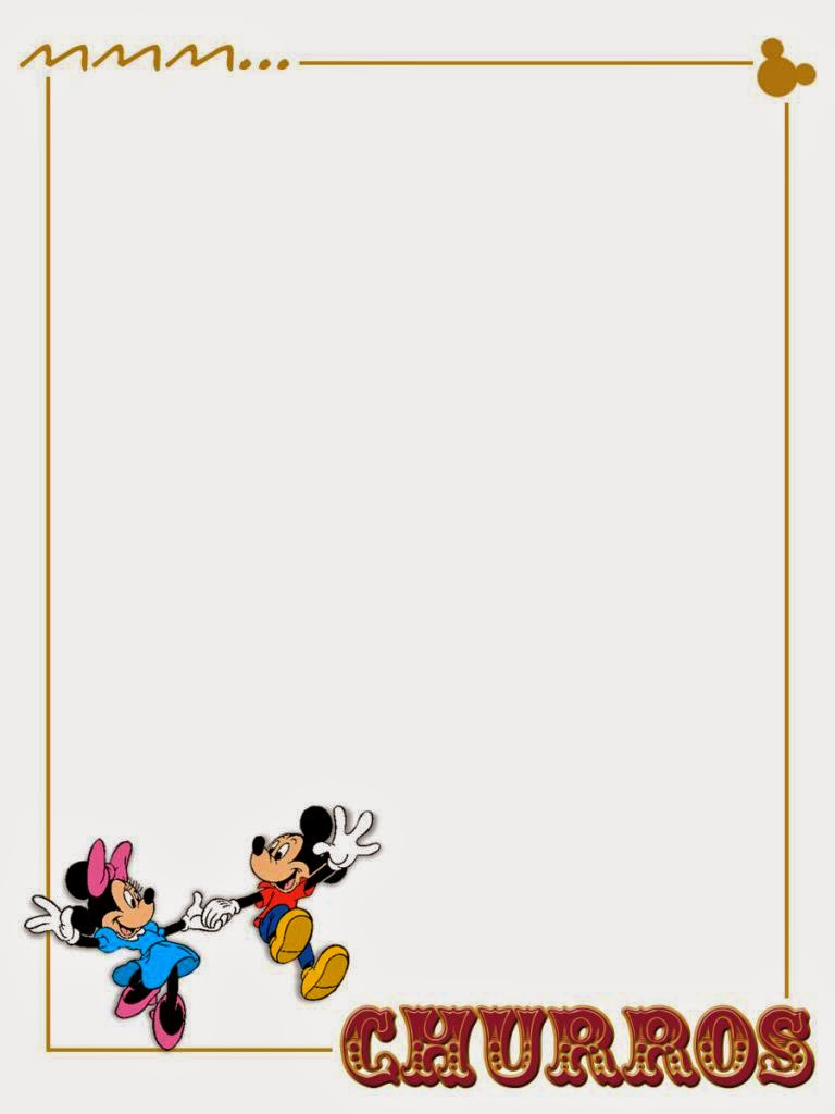 chef mickey u00b4s free printable notebook