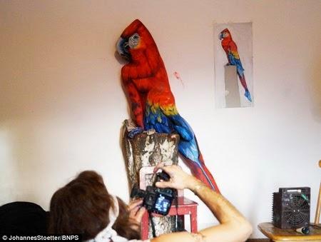 Ini Apa Benar-Benar Gambar Burung Apa ngak ya!