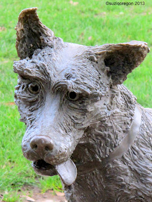 Ribsy Statue (detail)
