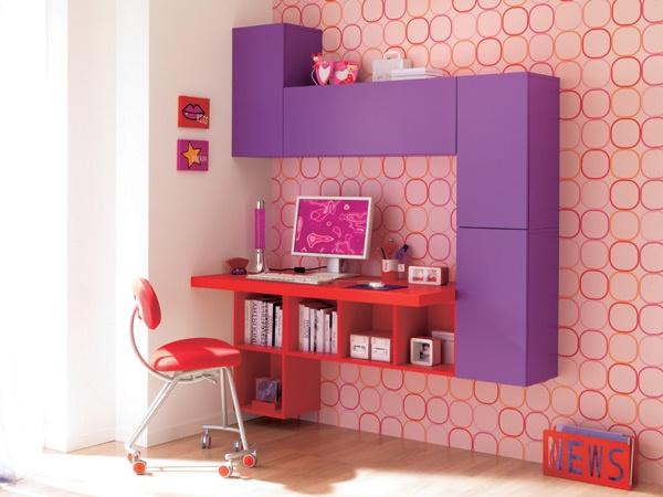 Arredamento Scrivania Design : Interni design genova la camera dei ...