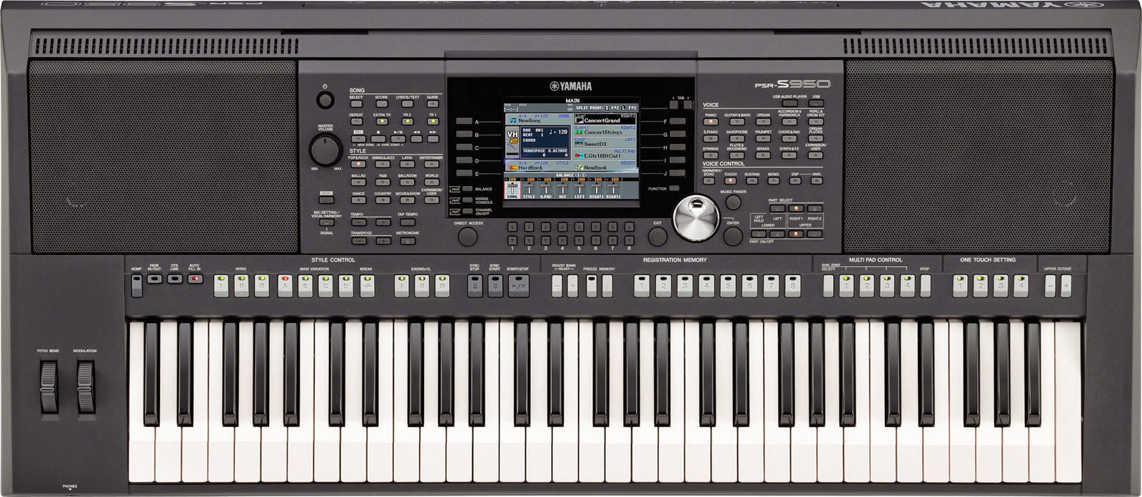 Image Result For Cara Membuat Style Di Keyboard Yamaha Psr S