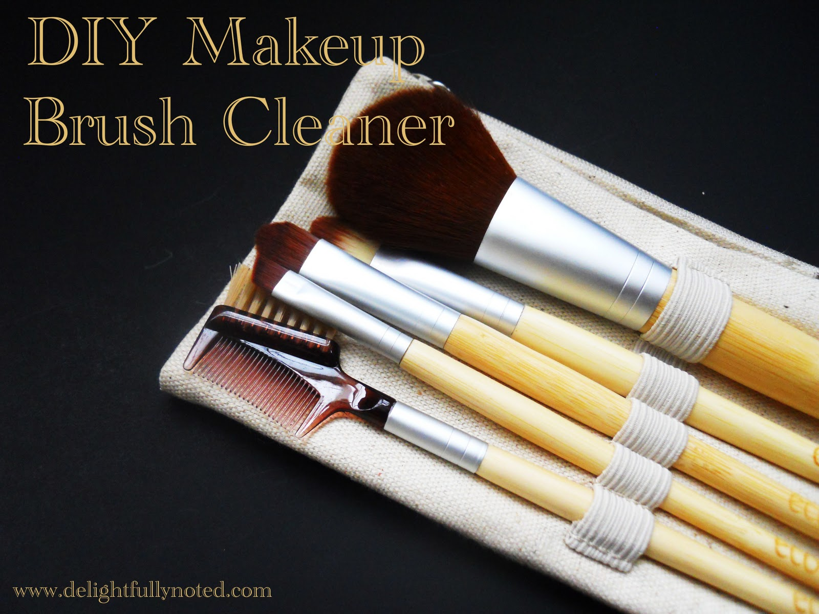homemade-makeup-brush-cleaner