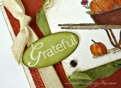 Heat Embossed Greeting - Always Grateful by Stampin' Up!