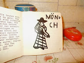 Links etwas Text und passend dazu der Mönch aus dieser Geschichte