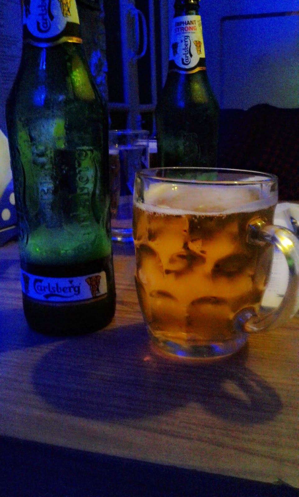 Carlsberg beer, New Empire Bar, Kolkata