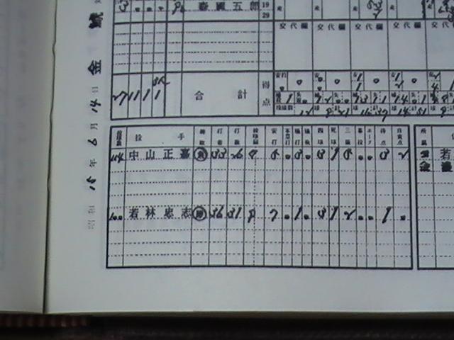 職業野球!実況中継: 10月 2012