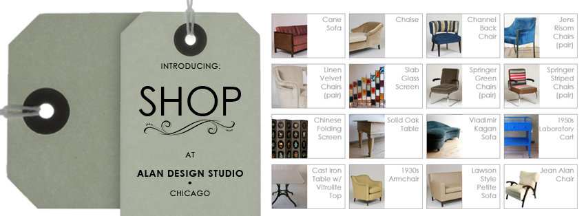 Alan Design Studio SHOP Custom Bespoke Furniture Chicago