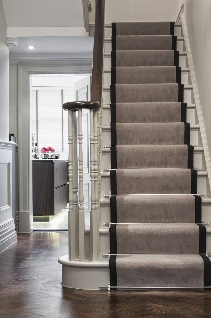 Carpet Stair Treads Pros And Cons Stairs Designs