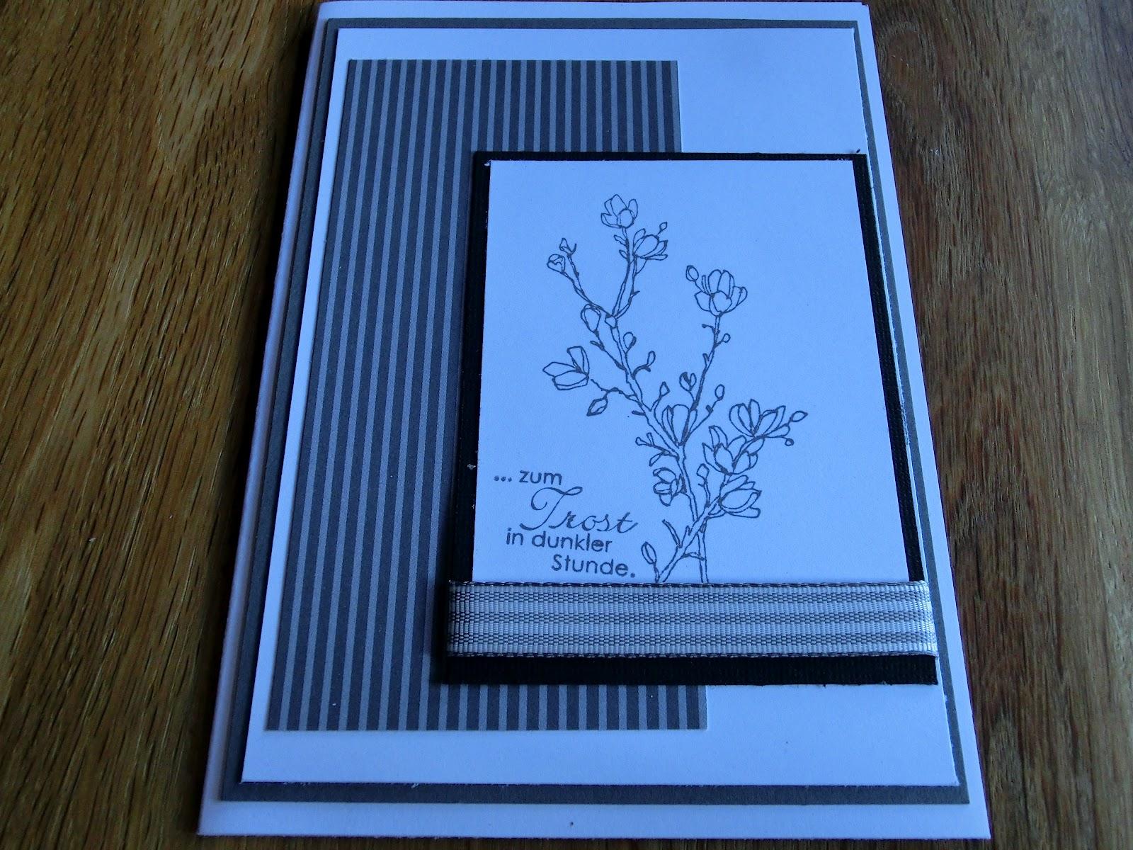 heidi s bastelzauber es wurden mal wieder trauerkarten bestellt. Black Bedroom Furniture Sets. Home Design Ideas