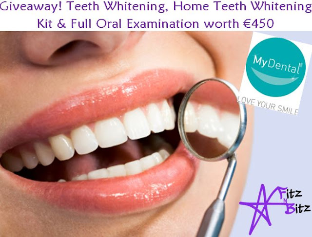 Giveaway! Teeth Whitening, Home Teeth Whitening Kit & Full Oral Examination worth €450