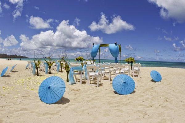 Decoracion de Bodas en la Playa, parte 1