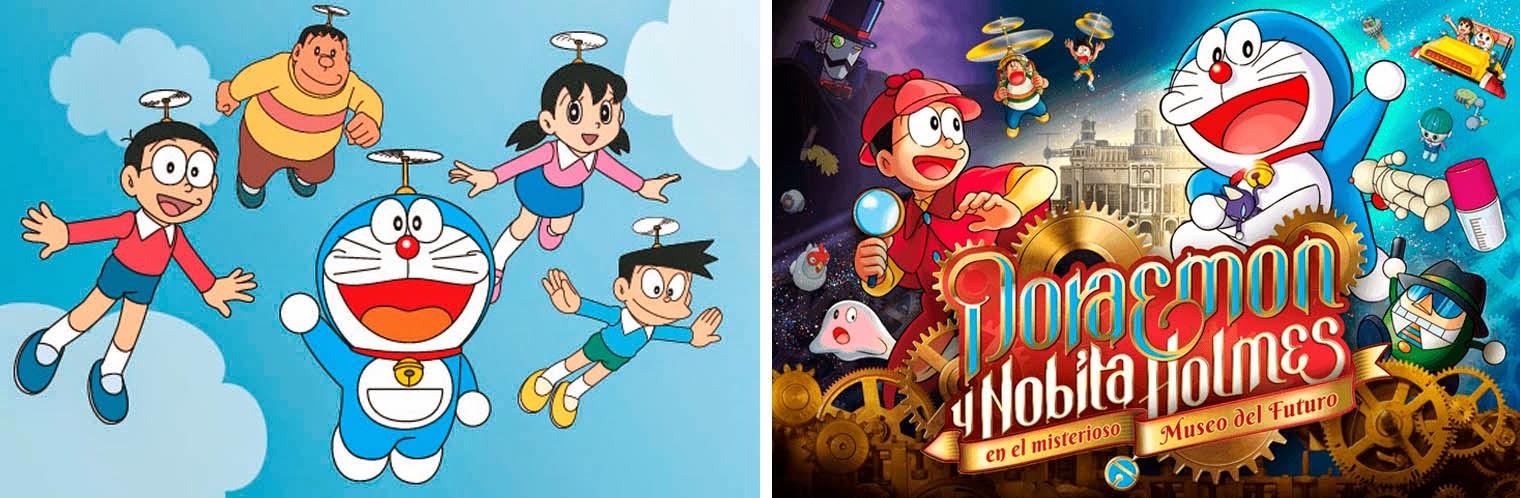 'Doraemon',, gato cósmico, ten un peto máxico, Series llevadas al cine