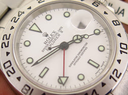 ROLEX EXPLORER II WHITE POLAR DIAL 40mm - ROLEX 16570 SERIE K YEAR 2002 - AUTOMATIC CAL 3185- MINTS