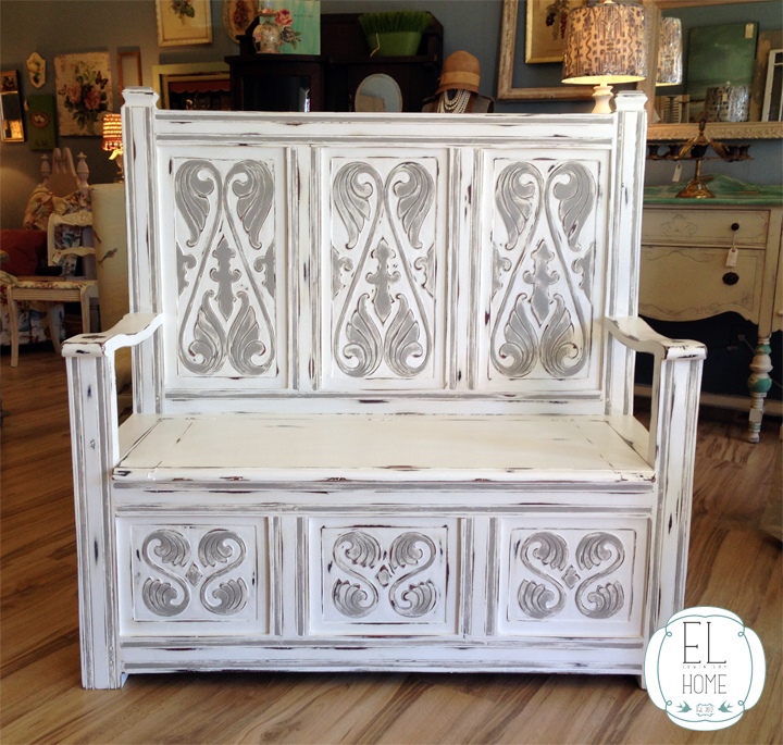 the painted transformation using chalk paint bench painted chalk paint