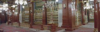 Beautiful Masjid-e-Nabvi Pictures Gallery