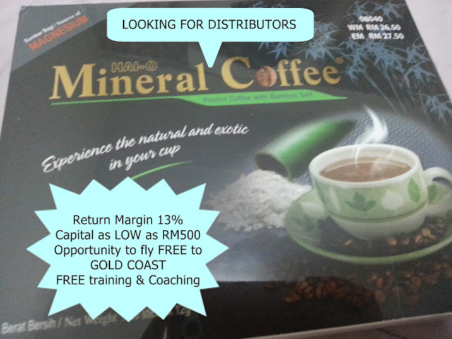 high margin distributor singapore, malaysia, brunei, philippine mineral coffee