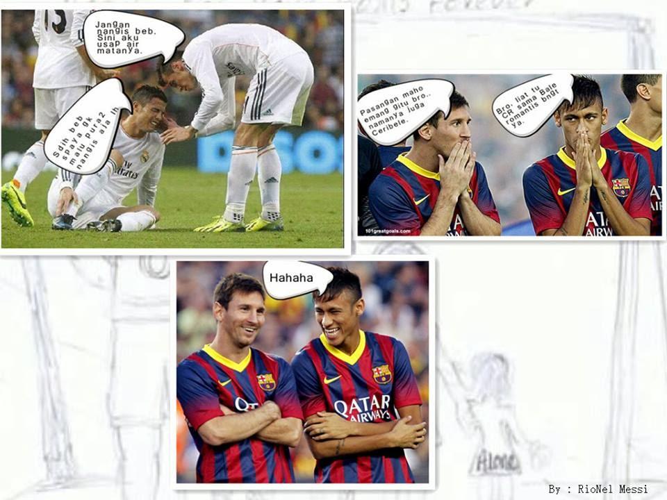 Gambar lucu Christiano Ronaldo