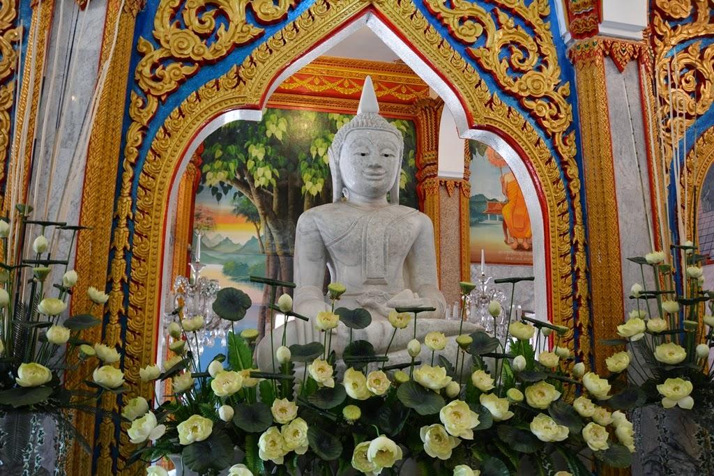 Wat Chalong Temple Phuket marble