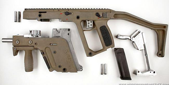 KRISS Super V TDI Vector Submachine Gun