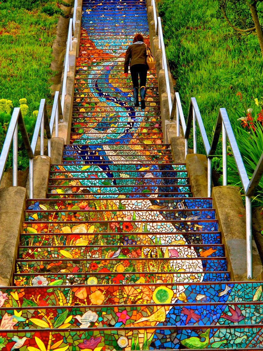 http://www.boredpanda.com/most-beautiful-steps-stairs-street-art/