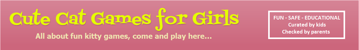 Cute Cat Games for Girls