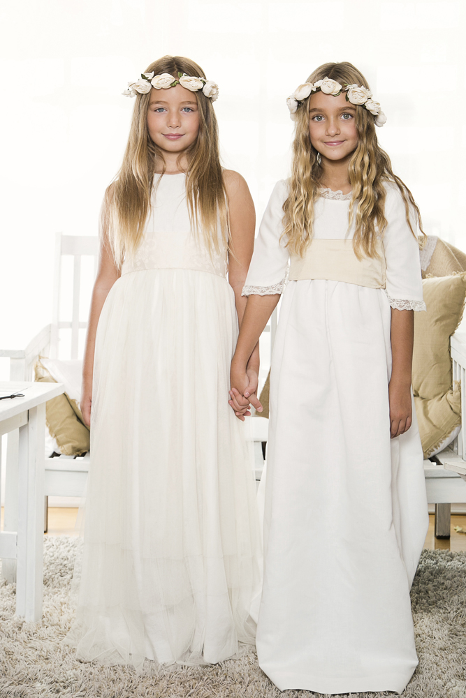 vestidos de primera comunion hippies